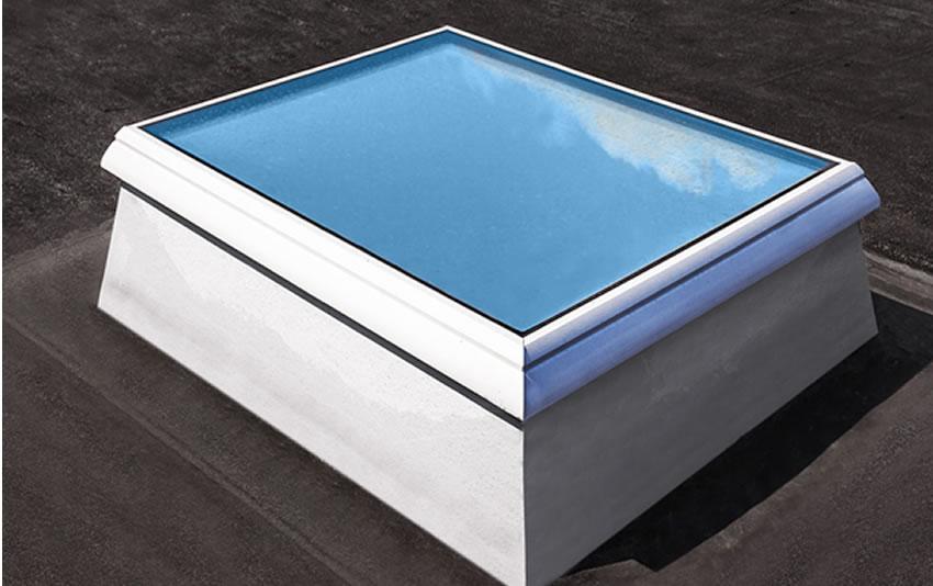 Tragaluz de vidrio F100